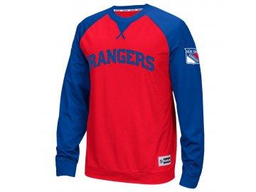 Tričko New York Rangers Longsleeve Novelty Crew 2016