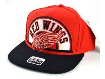 Kšiltovka  Detroit Red Wings Arched Snapback