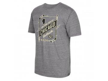 Tričko Chicago Blackhawks Our Home Our Ice (Velikost S, Distribuce USA)