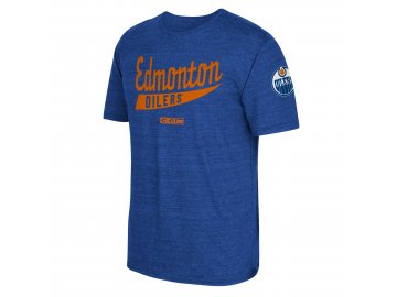 Tričko Edmonton Oilers CCM Strike First (Velikost S, Distribuce EU)