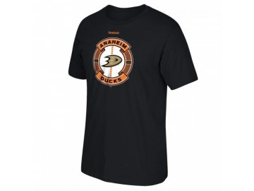 Tričko Anaheim Ducks Slick Pass Tee (Velikost S, Distribuce EU)