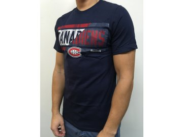 Tričko Montreal Canadiens Freeze Stripe