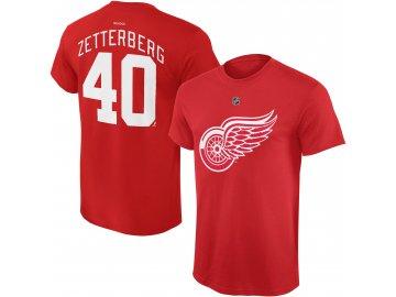 Dětské tričko Henrik Zetterberg Detroit Red Wings NHL Name & Number (Velikost Dětské L (11 - 12 let), Distribuce USA)