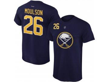 Dětské tričko Matt Moulson Buffalo Sabres NHL Name & Number (Velikost Dětské L (11 - 12 let), Distribuce USA)