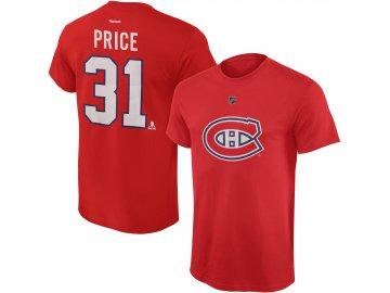 Dětské tričko Carey Price Montreal Canadiens NHL Name & Number (Velikost Dětské L (11 - 12 let), Distribuce USA)