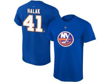Dětské tričko Jaroslav Halák New York Islanders NHL Name & Number (Velikost Dětské L (11 - 12 let), Distribuce USA)