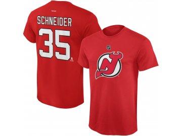Dětské tričko Cory Schneider New Jersey Devils NHL Name & Number (Velikost Dětské L (11 - 12 let), Distribuce USA)