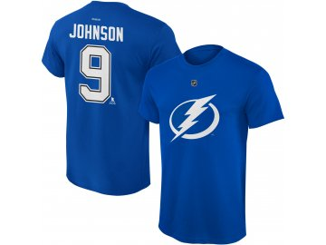 Dětské tričko Tyler Johnson Tampa Bay Lightning NHL Name & Number (Velikost Dětské L (11 - 12 let), Distribuce USA)