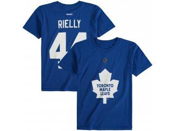 Dětské tričko Morgan Rielly Toronto Maple Leafs NHL Name & Number (Velikost Dětské L (11 - 12 let), Distribuce USA)