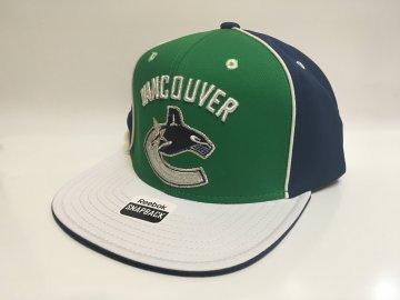 Kšiltovka Vancouver Canucks Pinwheel Snapback