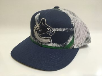 Kšiltovka Vancouver Canucks Print Structured Trucker