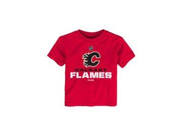 Dětské tričko  Calgary Flames NHL Clean Cut