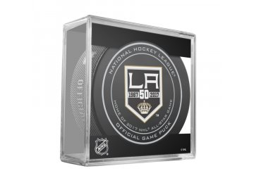 LOS ANGELES KINGS 50TH HOME ASG GAME PUCK CUBE 2016 900x900