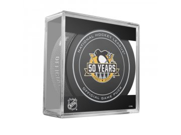 PITTSBURGH 50TH ANNI GAME PUCK CUBE 2016 900x900