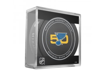 ST LOUIS 50TH ANNI GAME PUCK CUBE 2016 900x900