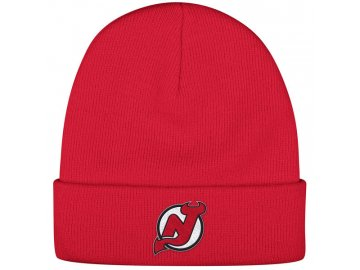 Kulich New Jersey Devils Reebok Basic Logo - Červená