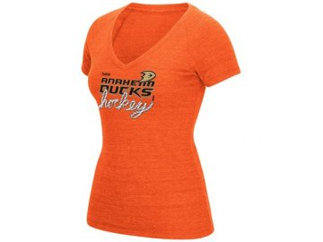 Dámské tričko Anaheim Ducks Reebok Laced Up