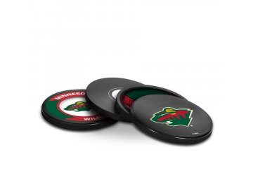 Puk Minnesota Wild NHL Coaster