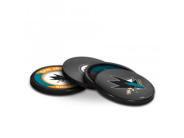Puk San Jose Sharks NHL Coaster