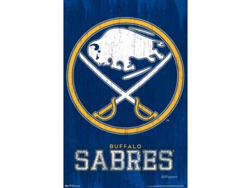 NHL Plakát Buffalo Sabres Primary Logo