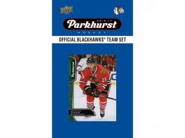 Hokejové karty NHL 2016-17 Upper Deck Parkhurst Chicago Blackhawks Team Card Set