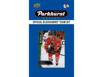 NHL hokejové karty Chicago Blackhawks 2016-17 Team Card Set