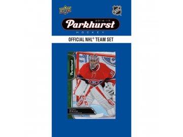 NHL hokejové karty Montreal Canadiens 2016-17 Team Card Set