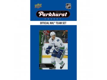 Hokejové karty NHL 2016-17 Upper Deck Parkhurst Vancouver Canucks Team Card Set