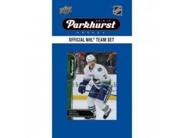 NHL hokejové karty Vancouver Canucks 2016-17 Team Card Set