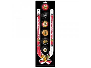 Plastová Minihokejka Chicago Blackhawks Six Pack