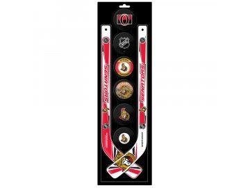Plastová Minihokejka Ottawa Senators Six Pack