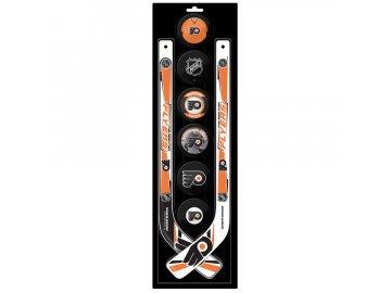 Plastová Minihokejka Philadelphia Flyers Six Pack
