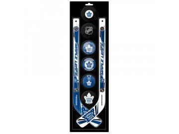 Plastová Minihokejka Toronto Maple Leafs Six Pack