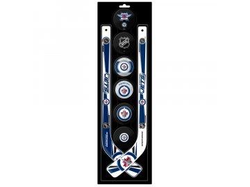 Plastová Minihokejka Winnipeg Jets Six Pack