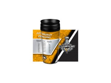 Pittsburgh Penguins 14oz. 2017 Stanley Cup Champions Full Wrap Tumbler