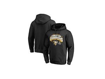 Mikina Pittsburgh Penguins Fanatics Branded 2017 Stanley Cup Champions Slapshot Pullover Hoodie - Black