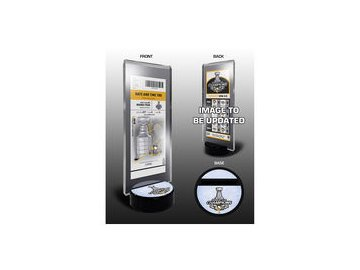 Pittsburgh Penguins 2017 Stanley Cup Champions Commemorative Ticket Stand