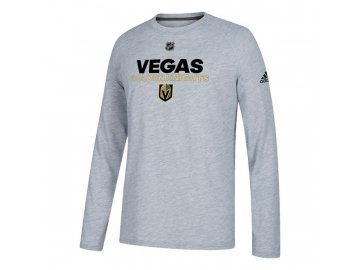 Tričko Vegas Golden Knights Authentic Ice Climalite Ultimate L/S