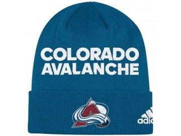 Zimní Čepice Colorado Avalanche Locker Room 2017