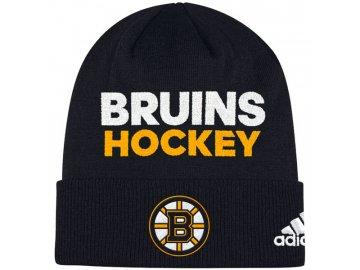 Zimní Čepice Boston Bruins Locker Room 2017