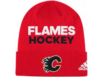 Zimní Čepice Calgary Flames Locker Room 2017