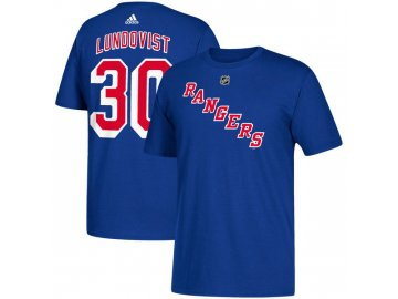 Tričko #30 Henrik Lundqvist New York Rangers
