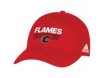 Kšiltovka Calgary Flames On-Ice Adjustable