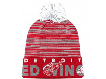 Kulich Detroit Red Wings Off Ice Cuffed Pom Knit