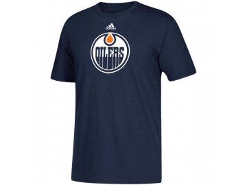 Tričko Edmonton Oilers Adidas Primary Logo