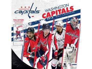 Kalendář Washington Capitals 2018 Team Wall