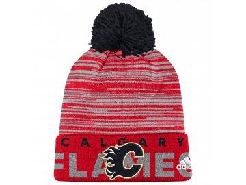 Dětská zimní čepice  Calgary Flames NHL Team Logo Cuffed