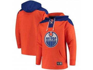 Mikina  Edmonton Oilers NHL Breakaway Lace Up