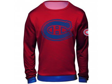 Mikina  Montreal Canadiens NHL Static Rain