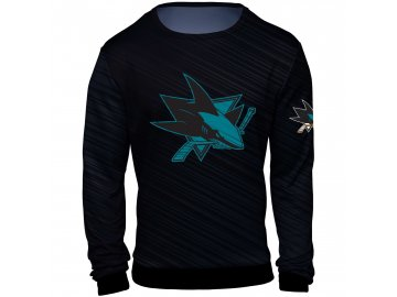 Mikina  San Jose Sharks NHL Static Rain